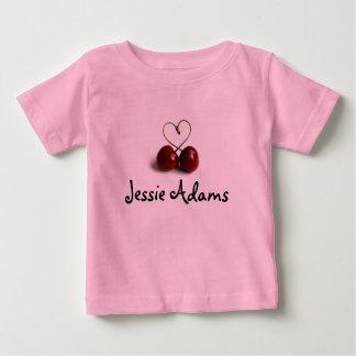Jessieアダムスのロゴの青年Tシャツ ベビーTシャツ