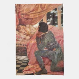 Jessie Willcoxスミス著ヴィンテージの眠れる森の美女 キッチンタオル