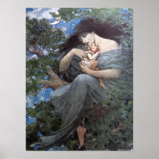 Jessie Willcoxスミス-素晴らしいブナの木 ポスター