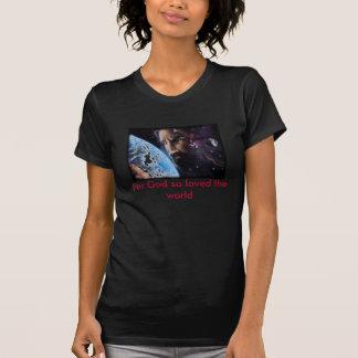 jesus_wept、なぜなら神はそう世界を愛しました tシャツ
