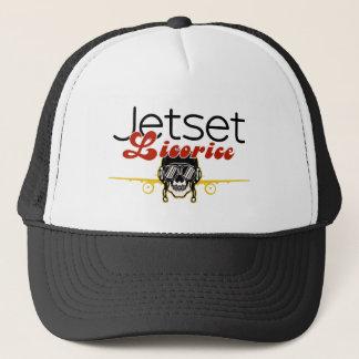 JetsetのLicorice >トラック運転手の帽子-スカルのパイロット キャップ