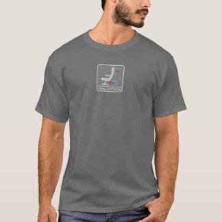 JetsetのLicorice >メンズTシャツ-航空会社の印 Tシャツ