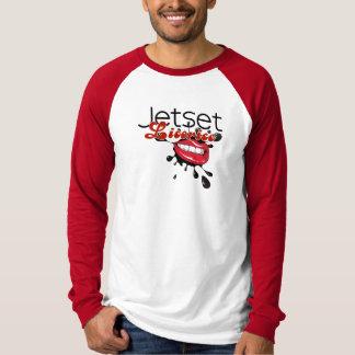 JetsetのLicorice >人の長袖のTシャツ Tシャツ