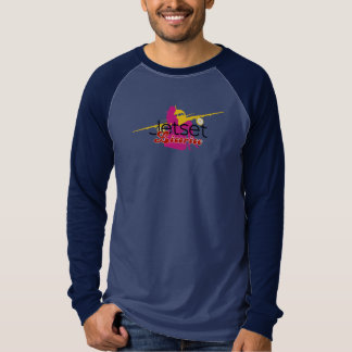 JetsetのLicorice >人のTシャツ-ピンナップ航空会社 Tシャツ
