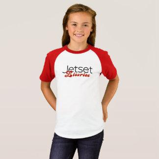 JetsetのLicorice >女の子の長袖のTシャツ Tシャツ