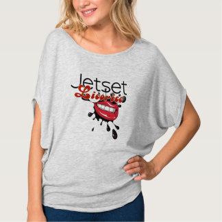JetsetのLicorice >女性の円の上 Tシャツ