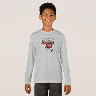 JetsetのLicorice >男の子の長袖のTシャツ Tシャツ