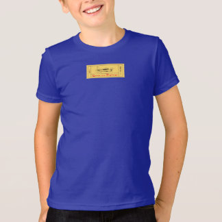 JetsetのLicorice >男の子のTシャツ-はえへのチケット Tシャツ