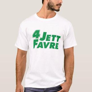 jettのfavre tシャツ
