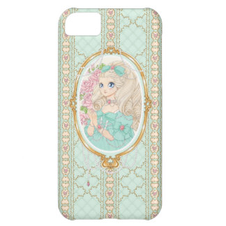 Jewel女性iPhone 5の場合(ミント) iPhone5Cケース