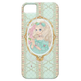 Jewel女性iPhone 5の場合(ミント) iPhone SE/5/5s ケース
