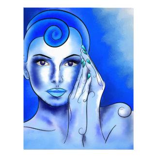 Jewellisina V1 -青い宝物 レターヘッド