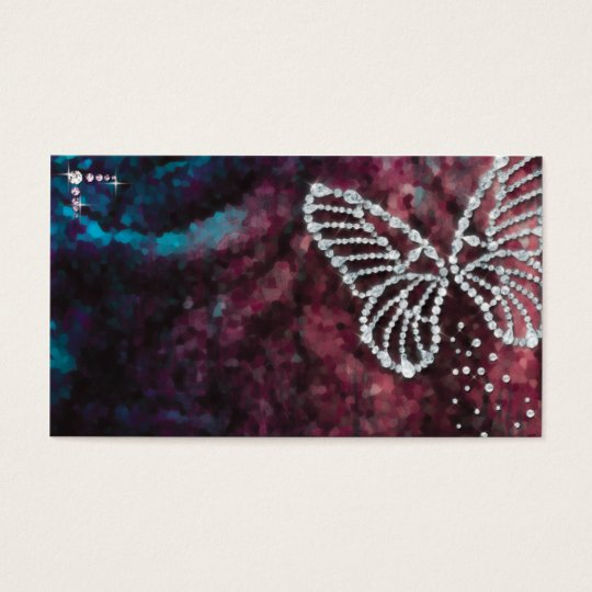 Jewelry butterfly 名刺