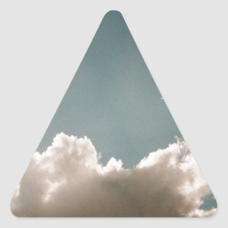 Jeyのスカイブルー 三角形シール