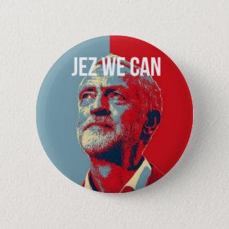 #JezWeCan -ジェレミーCorbyn 4 PMのバッジ 5.7cm 丸型バッジ