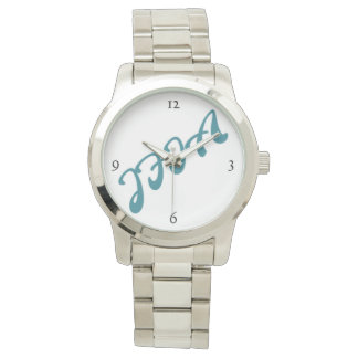 JFIA Deriメンズ銀の腕時計 腕時計