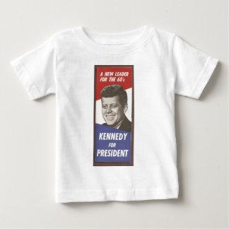 JFKのキャンペーン ベビーTシャツ