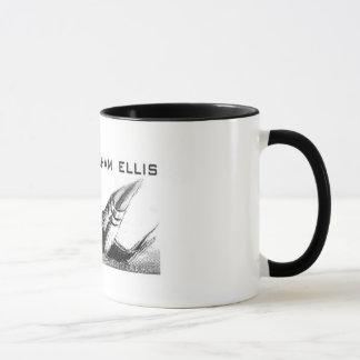 JGE Starshipのロゴ マグカップ