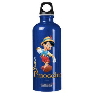 Jiminyのコオロギ2とのPinocchio ウォーターボトル