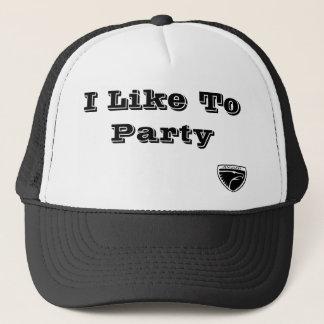 Jingoed、私はパーティを楽しむのを好みます キャップ
