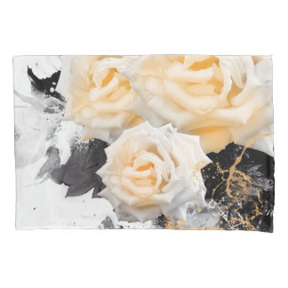 Jitakuの臭い黄色バラの枕カバー 枕カバー