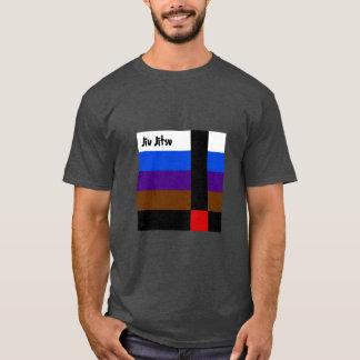 Jiu JitsuはTシャツにベルトを付けます Tシャツ