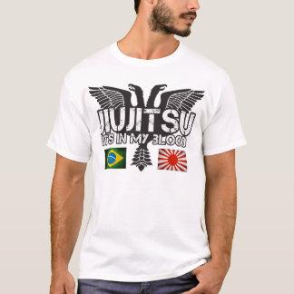 JiuJitsuブラジル-日本ワイシャツ Tシャツ
