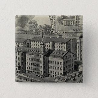 JJ Reganの工場 5.1cm 正方形バッジ