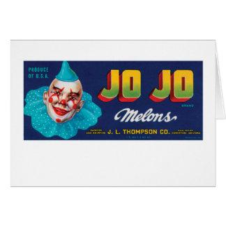 JO JOのメロン カード