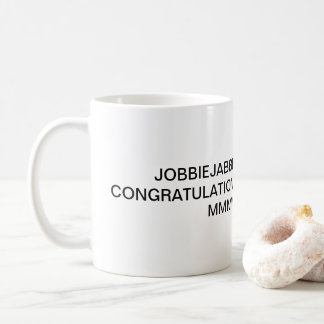 JOBBIEJABBER 2018賞のマグ!!! Lolz コーヒーマグカップ