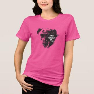 Jodyのデザインの丸首の女性ティー Tシャツ
