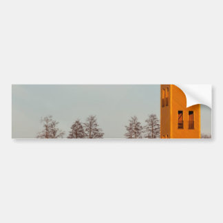 Jõesuuの望楼湖Võrtsjärvエストニア バンパーステッカー