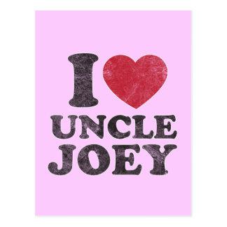 JoeyヴィンテージI愛叔父さん ポストカード