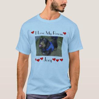 joey I愛私の救助#4 Tシャツ
