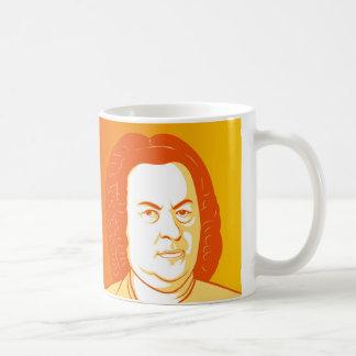 Johann Sebastian Bach Portraits コーヒーマグカップ