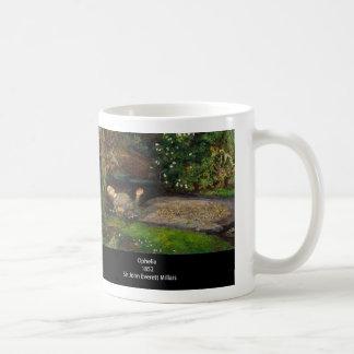 John Everett Millais , Ophelia コーヒーマグカップ