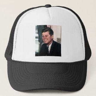 John F Kennedyのホワイトハウス色のポートレート キャップ