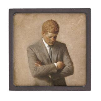 John F Kennedyの公式のホワイトハウスのポートレート ギフトボックス