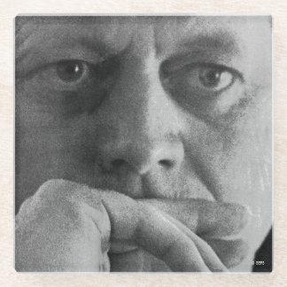 John F Kennedyの写真 ガラスコースター