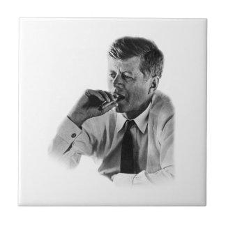 John F Kennedyの喫煙 タイル