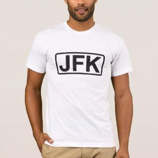 John F Kennedyの国際空港コードTシャツ Tシャツ