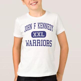 John F Kennedyの戦士の港のジェファーソンの場所 Tシャツ
