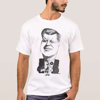 John F KennedyのTシャツ Tシャツ