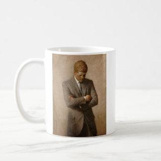 John F Kennedy大統領の署名のマグ コーヒーマグカップ
