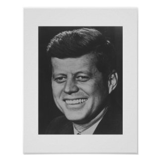 John F Kennedy大統領 ポスター