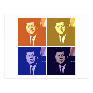 John F Kennedy はがき