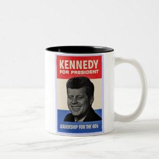 John F Kennedy ツートーンマグカップ
