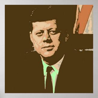 John F Kennedy ポスター