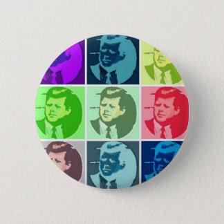 John F Kennedy 5.7cm 丸型バッジ