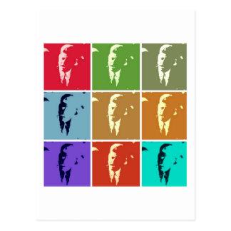 John F Kennedy /JFKのポップアート ポストカード